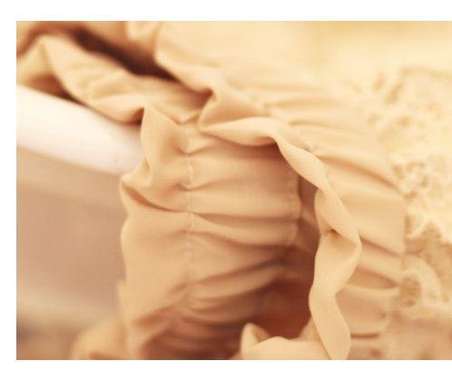 เสื้อผ้าแฟชั่น: กางเกงขาสั้นผ้าลูกไม้