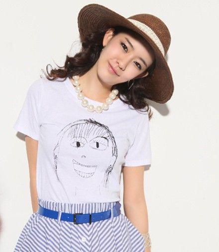 เสื้อผ้าแฟชั้น  : สร้อยมุกเม็ดโตเก๋ intrend