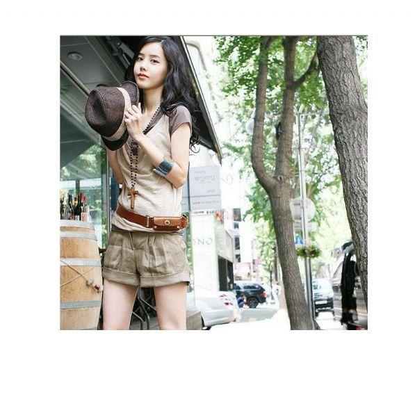 เสื้อผ้าแฟชั่น เสื้อผ้าเกาหลี  สร้อยกางเขนร้อยลูกปัด
