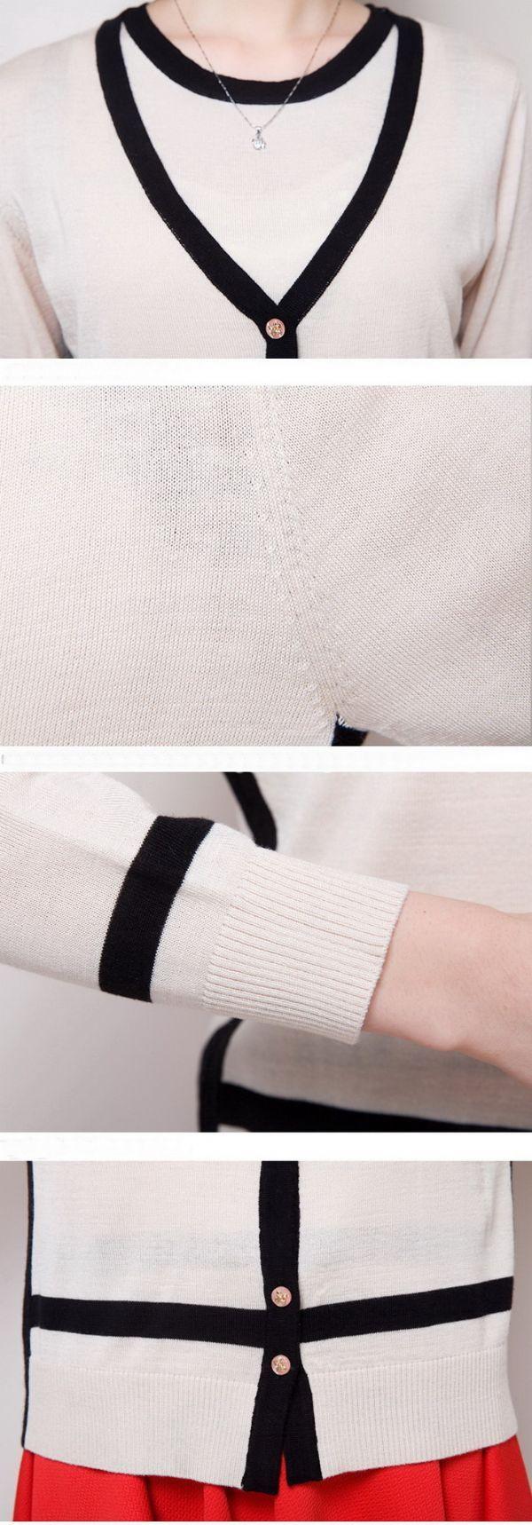 เสื้อผ้าแฟชั่นพร้อมส่ง : ชุดคาร์ดิแกนนิตต์ wool 2 ชิ้น
