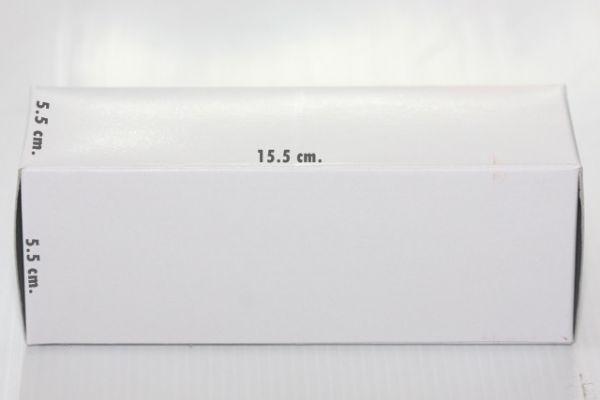 กล่องใส่หลอด ขนาด 5.5 x 5.5 x 15.5 cm (New)