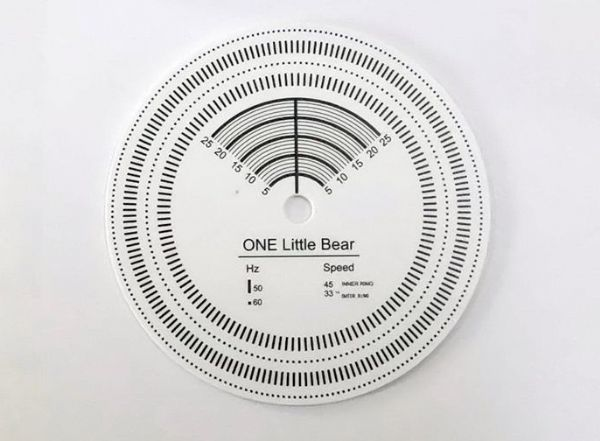 ไฟวัดรอบเครื่องเล่นแผ่นเสียง One Little Bear D60 (New)