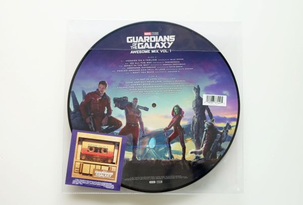 Guardians Of The Galaxy Awesome Mix Vol. 1 OST. (Picture Disc)