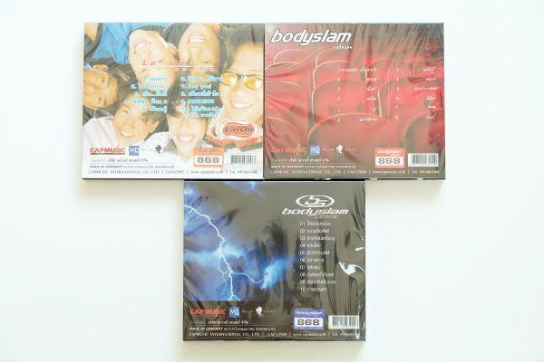 CD La-On - ละอ่อน, Bodyslam - Bodyslam, Bodyslam - Drive
