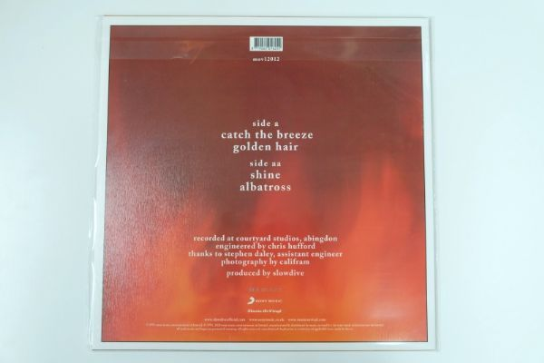 Slowdive - Holding Our Breath (Flaming Vinyl)