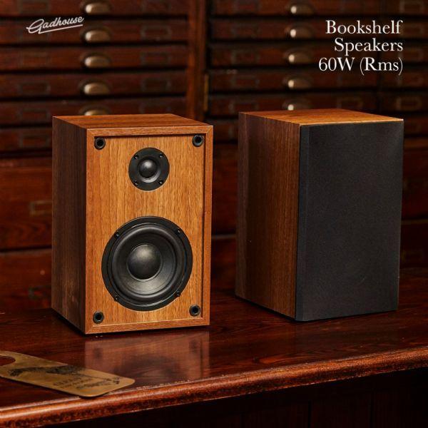 เครื่องเล่นแผ่นเสียง Gadhouse HENRY Hi-fi Turntable with Bookshelf Speakers (New)