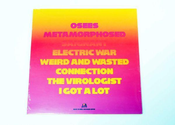Osees - Metamorphosed (Clear Blue Vinyl)
