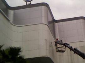 งานทำความสะอาดแผ่นอลูคาร์บอน 03