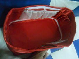 กระเป๋าจัดระเบียบมีหลายขนาดใช้ในกระเป๋าเดินทาง เรียบร้อยสวยงาม