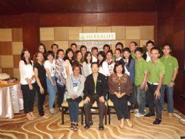 วันที่ 10 มิย 2555 จัดอบรมให้ Herbalife International : Service Mind อ.พรเทพ
