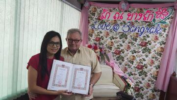 รับจดทะเบียนสมรส ไทย-อังกฤษ