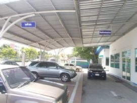 พื้นที่รับรถ