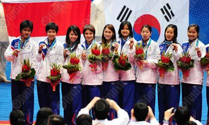 สาวไทย ทำดีที่สุดแล้ว กับเหรียญเงิน แบดมินตัน ทีมหญิง